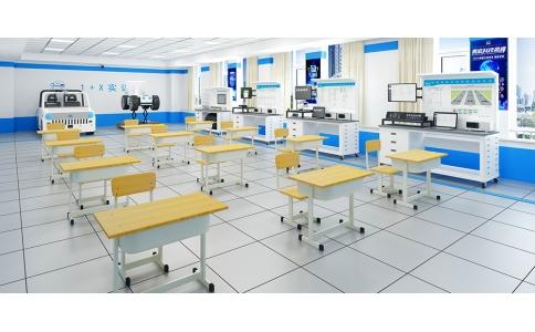 智能网联汽车1+X考核专业实训室建设方案